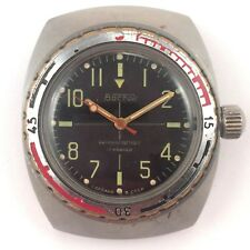 *Us Seller* Soviet Diver Watch, Amphibian, Antimagnetic Vostok 70s 2214 #1242