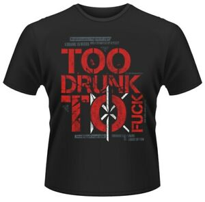 Dead Kennedys 'Too Drunk' T-Shirt - NEW OFFICIAL