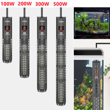More details for 100w-500w led digital submersible aquarium water heater fish tank thermostat rod