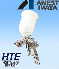 IWATA AZ3 HTE2 1.3mm GRAVITY SPRAY GUN CLEARCOAT 2PAC BASECOAT PRIMER NEW HVLP