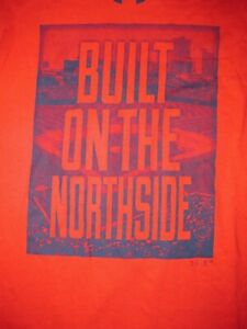 Chicago Cubs Under Armour Loose Heat Gear T Shirt Sz S Baseball Illinois North