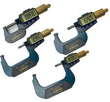"iGAGING IP54 EZ Data Micrometer 0-4"" (4 tools)"