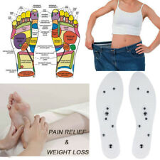 Magnetic Massage Shoe Insoles Gel Pad Therapy Acupressure Foot Care Cushion 2018
