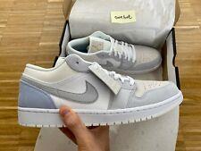 Nike Air Jordan 1 Low Paris EU 47.5 US 13 White Grey Neu DS Milan Mid CV3043-100