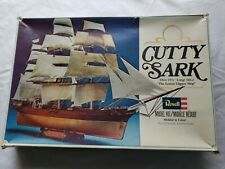 New Listing(1979) Revell Cutty Sark Clipper Sailing Ship Model Kit #5401 1:220 Scale Model