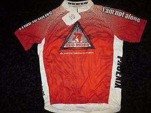 Red Rider Phoenix diabetes Cycling Biking Primal Jersey XL mens NEW