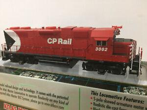 Atlas GP38 CP Rail #3002 Pacman Canadian Pacific Factory DCC/DC Decoder