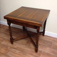 OAK BARLEY TWIST DRAWLEAF EXTENDING TABLE (SIZE 2) - GREAT PUB TABLE.