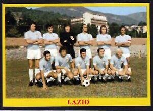 RARA FIGURINA CALCIATORI CALCIO SQUADRE BAGGIOLI ? 1975 LAZIO