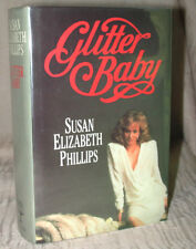 GLITTER BABY by Susan Elizabeth Phillips RARE 1987 Collins GB UK Hardcover HC/DJ