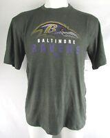 Baltimore Ravens Men's Gray Team Apparel Short Sleeve T-Shirt NFL