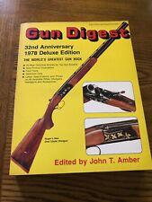 VINTAGE GUN DIGEST 1978 DELUXE EDITION Good Condition.