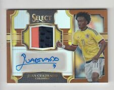 2017-18 Panini Select Soccer Jersey Auto card :Juan Cuadrado #47/49