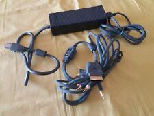XBOX 360 AC Adapter Microsoft V85 Alimentatore Connettore Cavetti 12V 203W