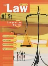 AQA Law for AS,Jacqueline Martin