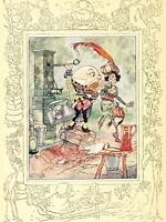 PAINTING ALICE IN WONDERLAND EGG SHOUTING LARGE WALL ART PRINT POSTER LF2072