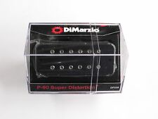 DiMarzio P-90 Super Distortion Soap Bar Humbucker Black DP 209