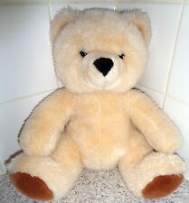 Build a bear / factory traditional sitting bear - older design Beige cuddly toy