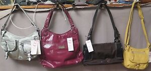 NINE & CO. Assorted Styles Silver, Burgundy, Black & Mustard... Brand New w/Tags