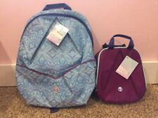 Nwt Ivivva By Lululemon Pack For Class Backpack Ttrp/Sgpe Lunch Bag Regp