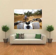 Yamaha ATV Quad Bike Giant Wall Art Poster Print