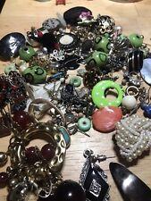 Mixed Jewellery Job Lot Bundle Vintage Modern New Broken Costume