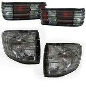 SMOKED REAR LIGHTS & INDICATORS FOR MERCEDES S CLASS W126 COUPE SEC MODEL