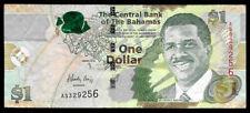World Paper Money - Bahamas $1 Dollar 2015 Prefix As @ F-Vf Cond.