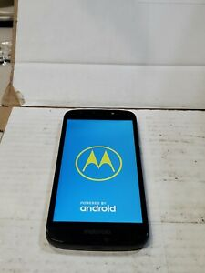 Motorola Moto E5 Play, 16GB,Black (Cricket),Good Condition :C333