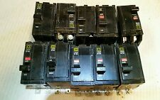 QOB220  Square D 2 POLE Circuit Breaker Lot of 10.