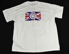 Blink 182 Rare Leeds Reading Festival 2014 England White Concert Band Shirt XL
