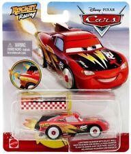 CARS Disney Pixar Diecast XRS Rocket Racing Lightning McQueen with Blast Wall