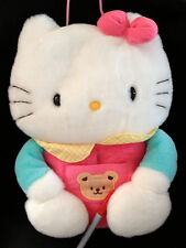 HUGE SANRIO HELLO KITTY TISSUE BOX PLUSH COVER from JAPAN-ship free