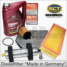 Filter Set IInspetionsteile passend für Audi A4 B8 2,0TDI 105KW 143PS CJCA CMFA