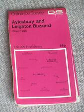Aylesbury, Leighton Buzzard area MAP 1:50000 OS LANDRANGER 165