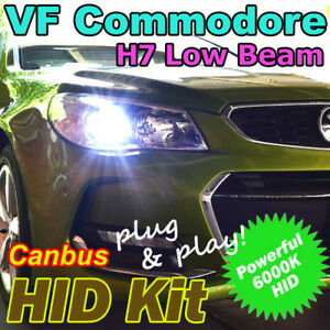 #H35 Holden HSV VF Commodore Low Beam CANBUS H7 6000K Xenon HID Conversion Kit