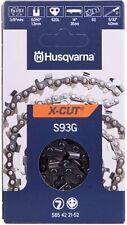 """Catena per Motosega Husqvarna S93G X-CUT 3/8"""" - 1,3 mm 0.050"""" 52 maglie"""