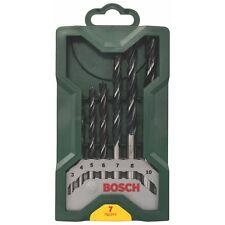 12ONLY Genuine Bosch DIY 7 Piece Drill Set Wood Drills 2607019580 3165140430296#