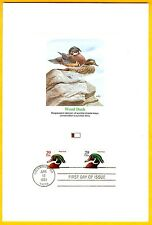 Proofcard Wood Duck Classic Art Print Don Balke Scarcer Red Print Columbus Ohio