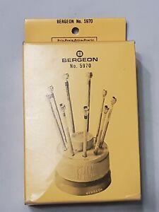 Bergeon No. 5970 screwdriver set New never used