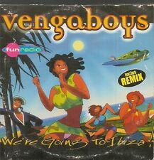 CD SINGLE 2 TITRES--VENGABOYS--WE'RE GOING TO IBIZA--1999