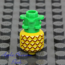 NEW Lego Minifig PINEAPPLE -Friends Minifgure Kitchen Yellow Fruit Plant Food