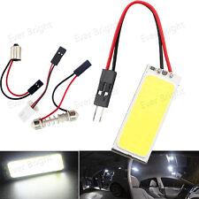 10Pcs White COB 36SMD LED T10 BA9S Festoon Dome Car Interior Panel Light Bulbs