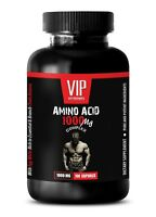 workout supplement - AMINO ACID 1000mg - increase muscle growth 1 Bottle