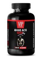 amino acids bcaa - AMINO ACID 1000mg - reduce exercise fatigue 1 Bottle