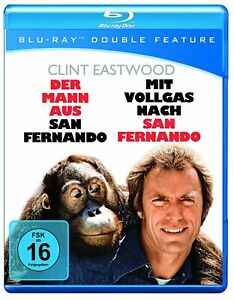 Every Which Way But Loose + Any Which Way You Can (2 Blu Ray) Import New/Sealed