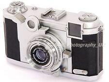 RARE!! Zeiss Ikon Tenax II 24 x 24mm Rangefinder + Zeiss TESSAR 1:2.8 f=4cm Lens
