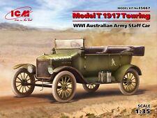 Model T 1917 Touring, WWI Australian Army Staff Car 1/35 ICM 35667