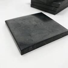 Shungite Tile Polished 100x100x10 mm Schungit Protection Against EMF