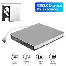 Ultradünnes Externes Optisches USB 3.0 Laufwerk CD-RW DVD-RW Brenner/DVD-Player
